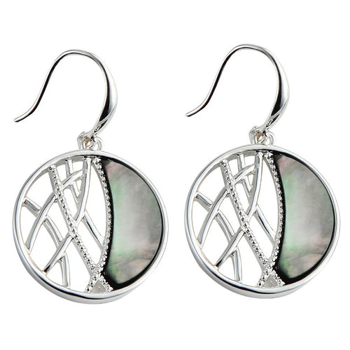 Reflection Half Moon Earrings