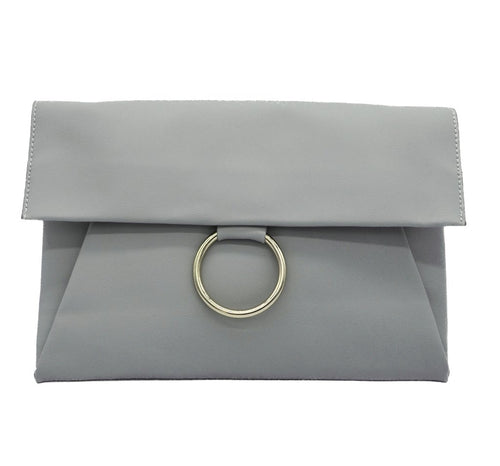Ring Clutch Grey