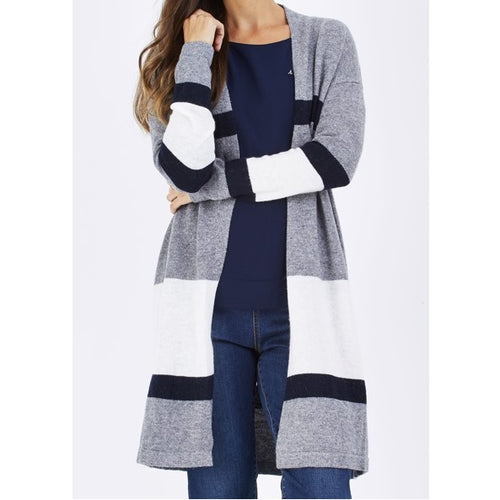 Long Line Knit Cardigan