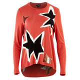 Threadz Star Tee Ginger