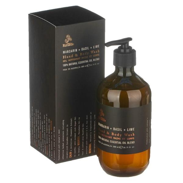 EQUILIBRIUM 500ML Lime Basil & Mandarin Hand & Body Wash