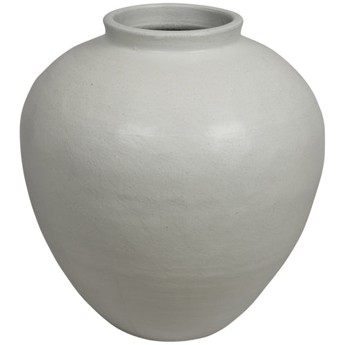 Milos Medium Ceramic Glazed Pot