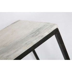 Marble Stone Nesting Tables