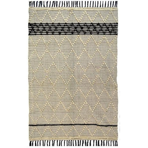 Fringe Diamond Rug