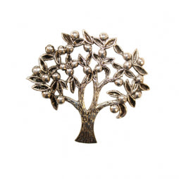 Bronze Tree Brooch