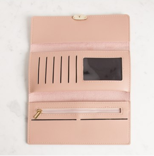 Chloe O Front Fold Over Wallet