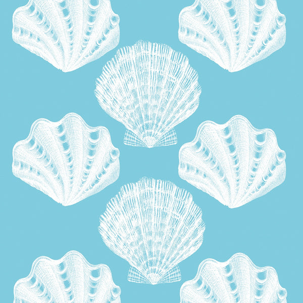Luncheon Napkins - Rivera Shells Aqua