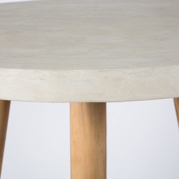 Round Concrete Bar Table