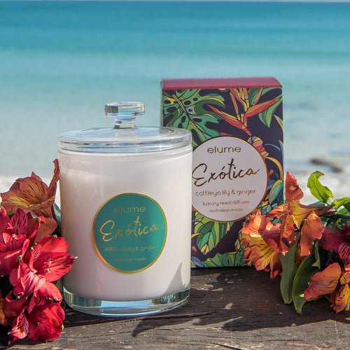 Elume Special Edition Exotica Soy Candle 300g