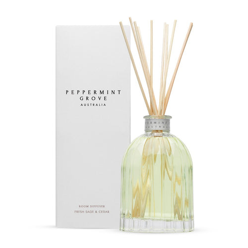 Peppermint Grove Fresh Sage & Cedar Diffuser 350ml