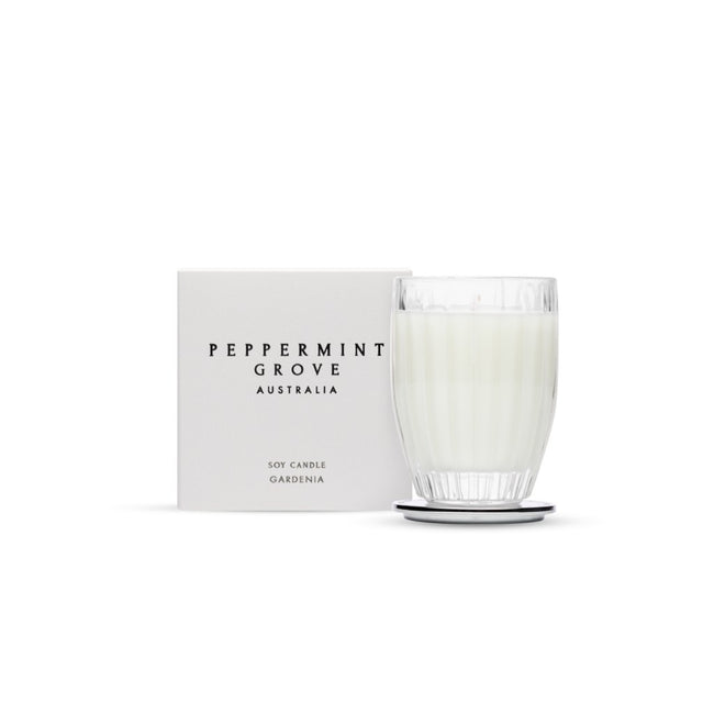 Peppermint Grove Gardenia Soy Candle