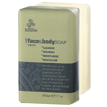 HIS 200G Face & Body Soap