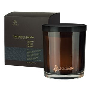 HIS Natural Citrus, Juniper & Rosewood Soy Candle 400g
