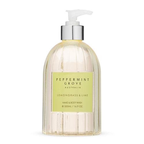 Peppermint Grove Lemongrass & Lime Hand & Body Wash 500ml
