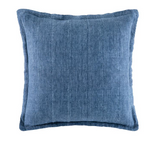 LINEN CUSHION BLUSH SQUARE