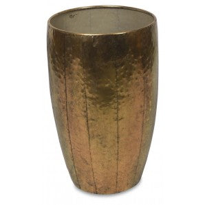 Gold Metal Planter Pots