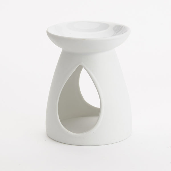 Elume Solid White Teardrop Oil Burner