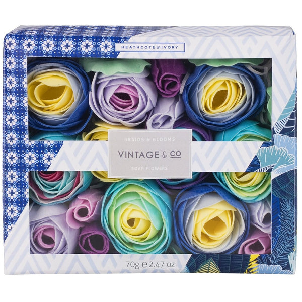 Vintage & Co. Braids & Blooms Soap Flowers