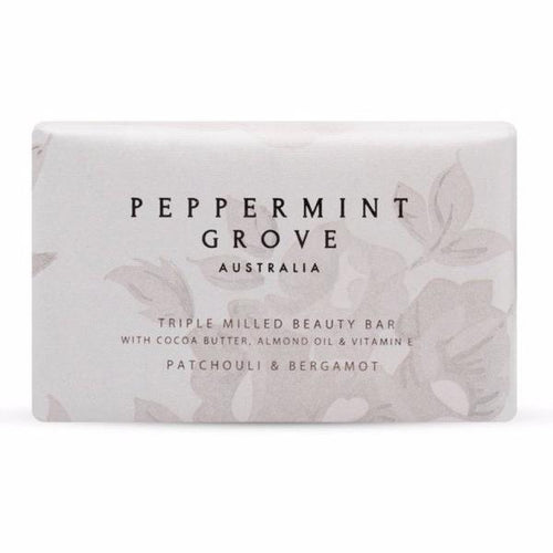 Peppermint Grove Patchouli & Bergamot Beauty Bar 200g