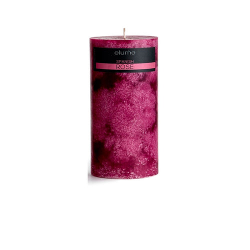Elume Spanish Rose Candle 4x8in