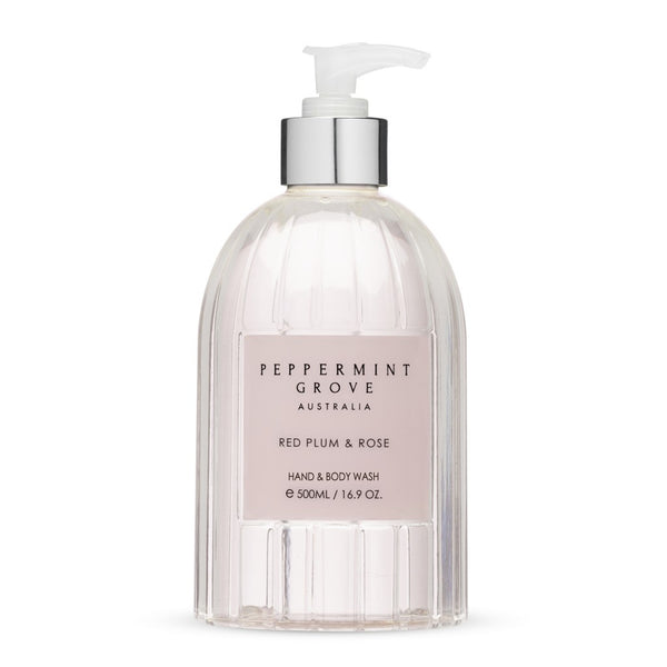 Peppermint Grove Red Plum & Rose Body Wash 500ml