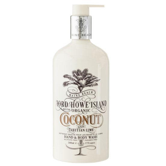 COCONUT HAND & BODY WASH 500ML