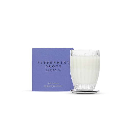 Peppermint Grove Sandalwood & Vetirver Candle 60g