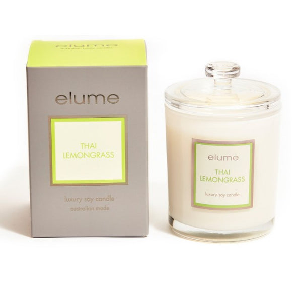 LUXURY THAI LEMONGRASS SOY CANDLE