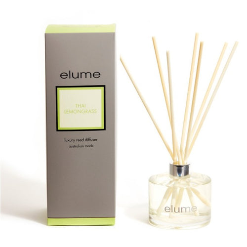 Elume Luxury Thai Lemongrass Reed Diffuser 200ml