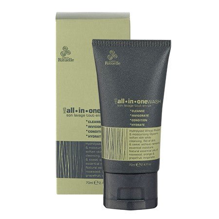 HIS ALL IN ONE WASH TRAVEL SIZE