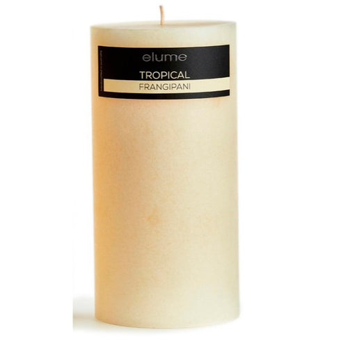 Elume Tropical Frangipani Candle 4x8in