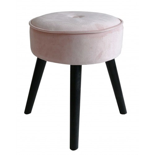 Dresser Stool - Powder Pink