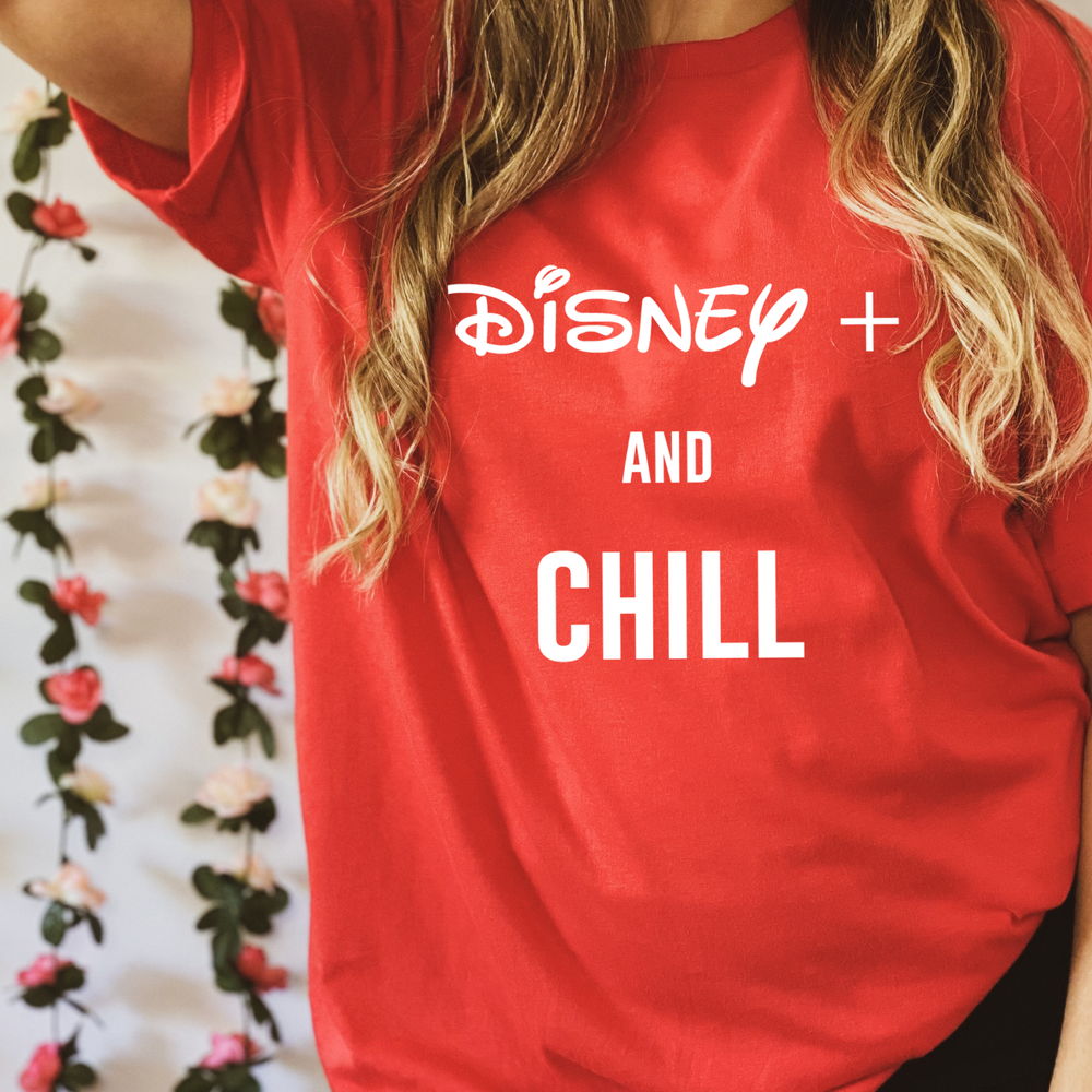 Disney and Chill - Royal Tees Designs