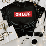 Oh Boy! - Royal Tees Designs