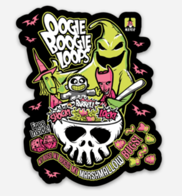 Oogie Boogie Loops - LIMITED QUANTITIES - Royal Tees Boutique