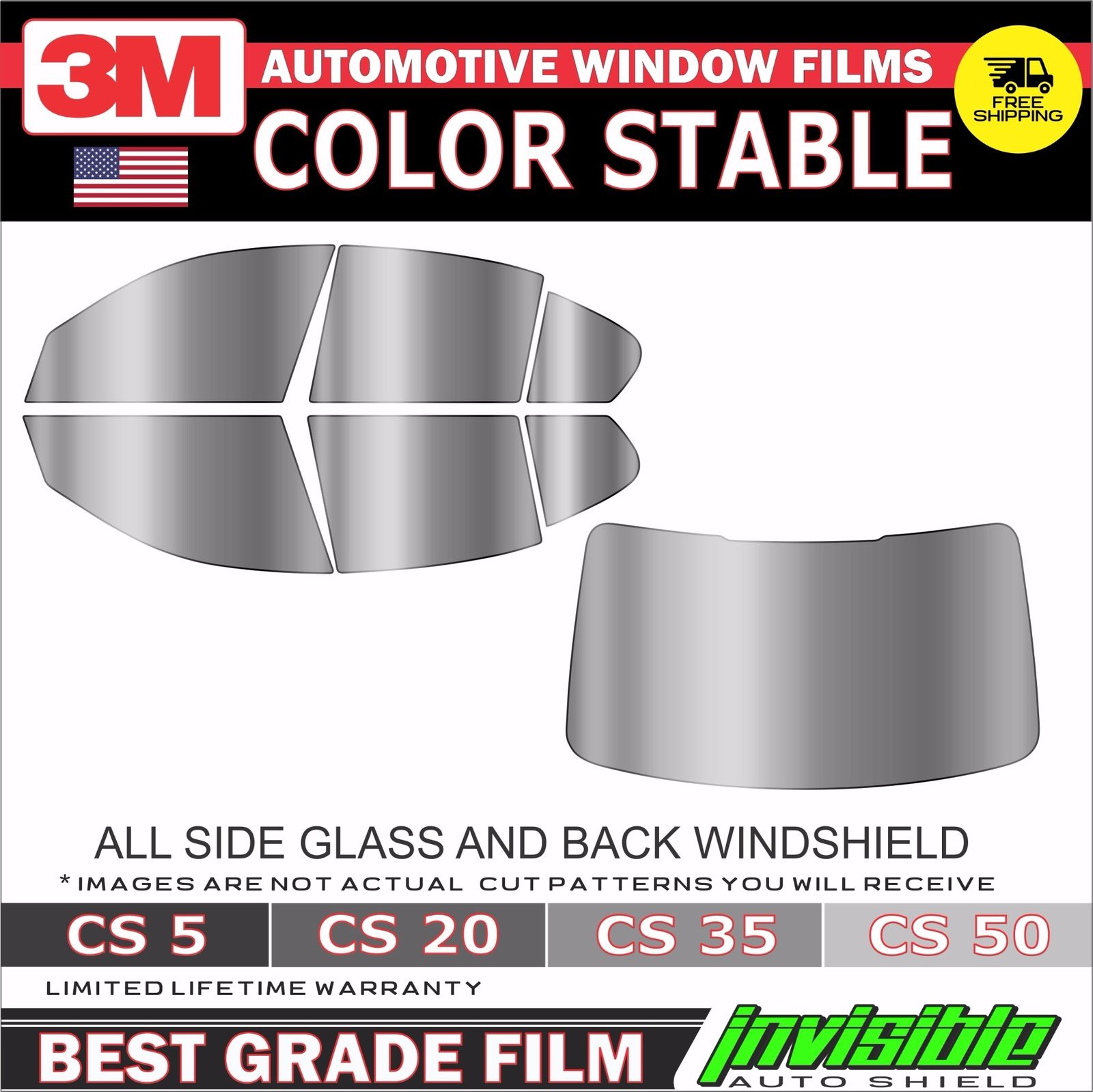 PreCut Film Front Two Door Windows COMPUTER CUT Any Tint Shade for ALL Dodge