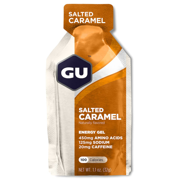 GU Energy Gel - Salted Caramel flavor