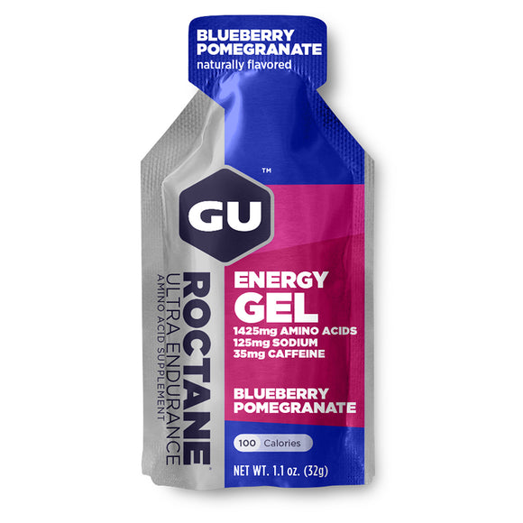 GU Enery Gel - Blueberry Pomegranate flavor