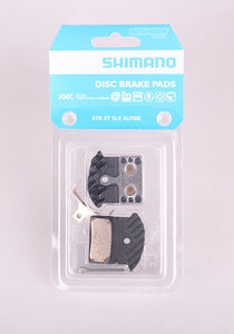 Shimano J04C finned sintered brake pads for XTR/XT/SLX/DEORE