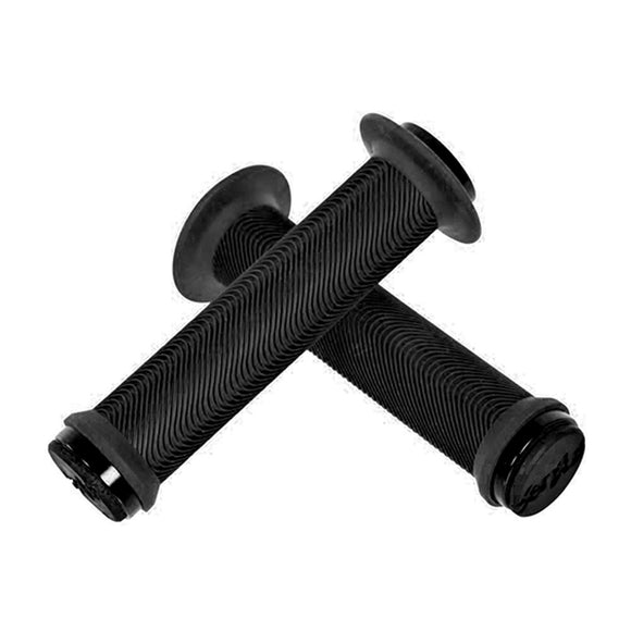 Sensus Swayze flanged lock-on grip - black