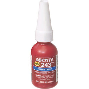 Loctite 243 thread locker - 10mL