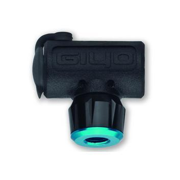 Black plastic CO2 inflator