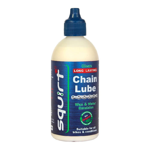 120ml bottle of Squirt wax based chain lube