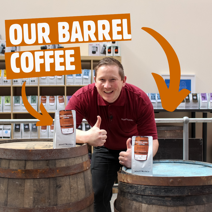 One to watch, want to know more about our Barrel Aged Coffee ?