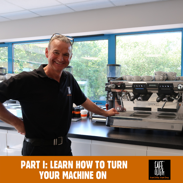After Lockdown - Part 1 How to turn on your coffee machine after a long period water and drainage