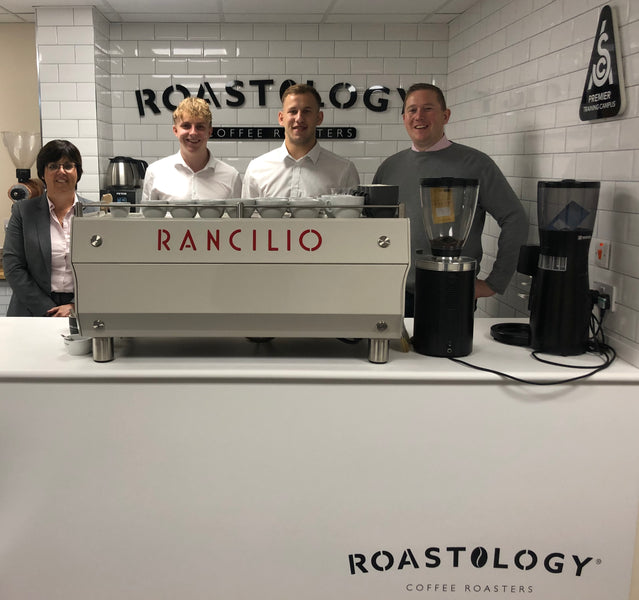 Double Signing as two new graduates join the Roastology team