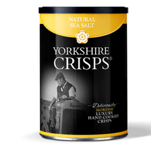Yorkshire Crisps - Natural Sea Salt, Black Pepper & Nowt On 100g Tubs