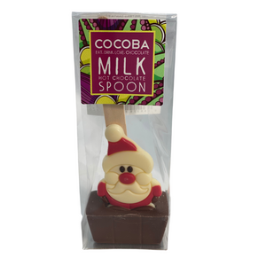 Santa Milk Chocolate Spoon