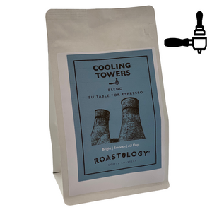 Roastology Cooling Towers Espresso Ground Coffee x 250g