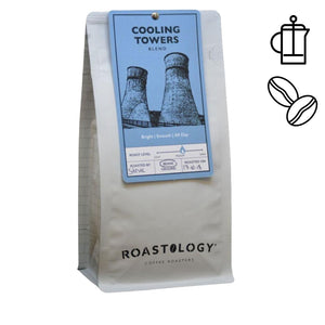 Roastology Cooling Towers 250g or 1kg bag of Ground or Roasted Coffee Beans